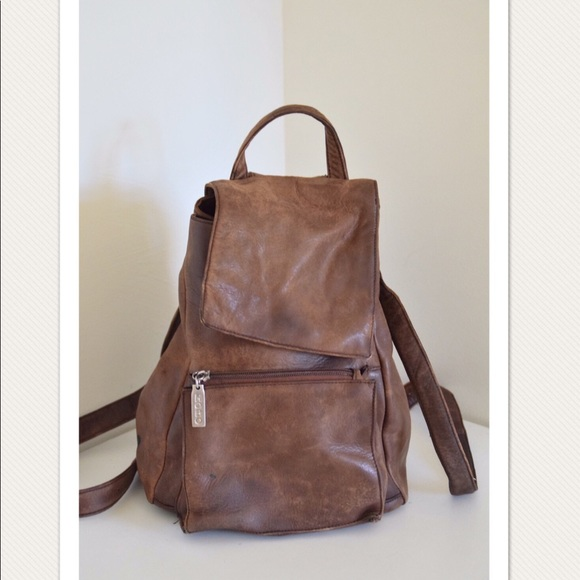 HOBO Handbags - Vintage Hobo International leather backpack 9a451d9f23513